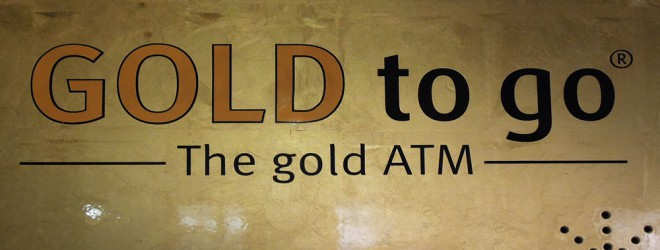 Gold to go ATM