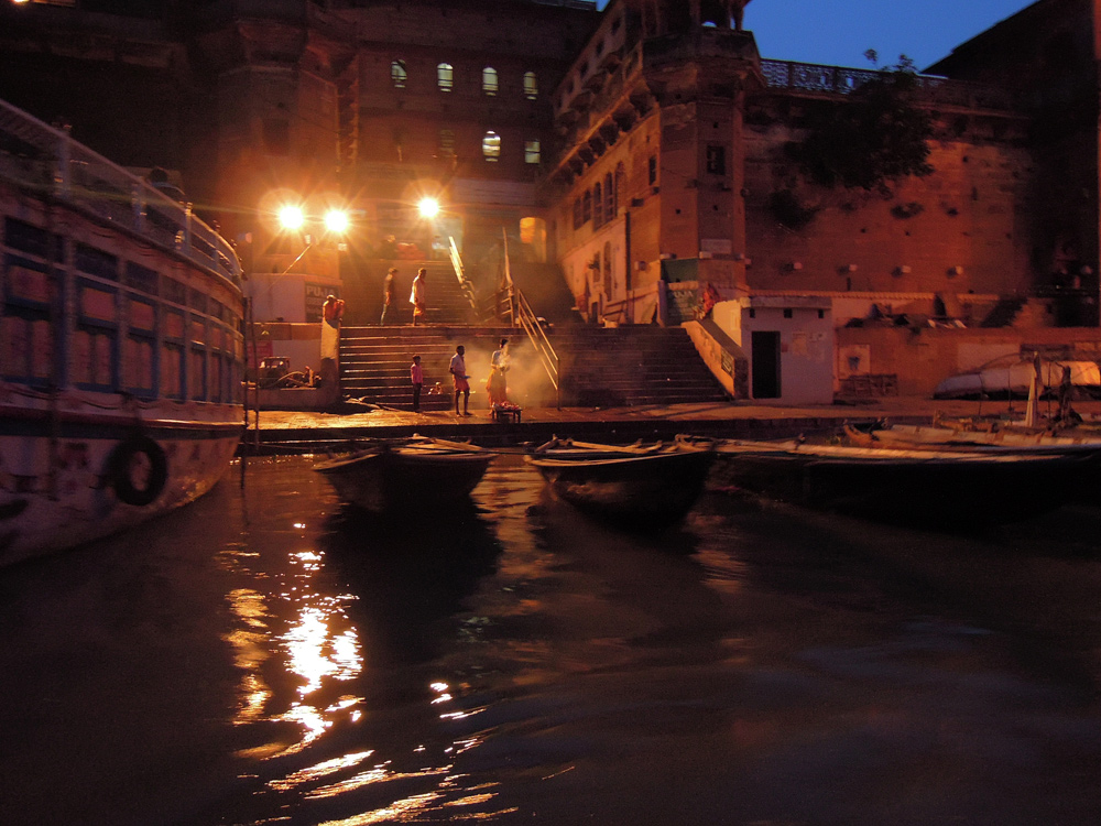 varanasi at night