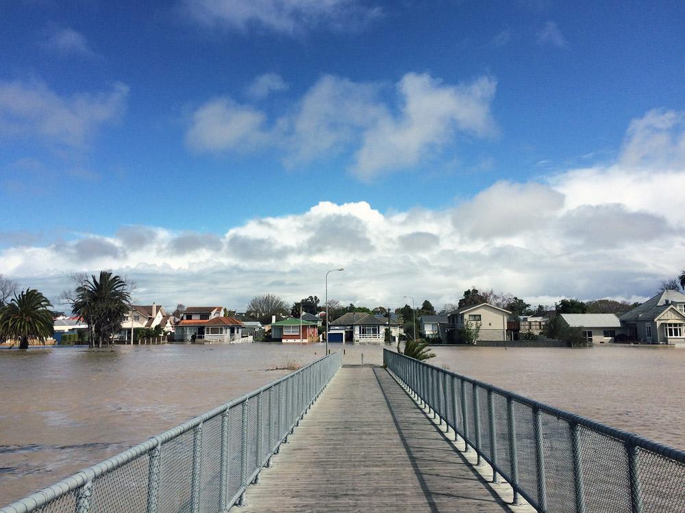 Gisborne-Hochwasser