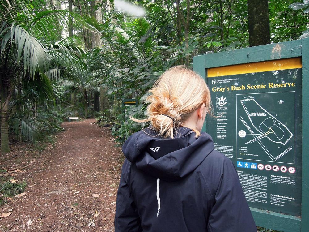 Greys-Bush-Scenic-Reserve-Eingang