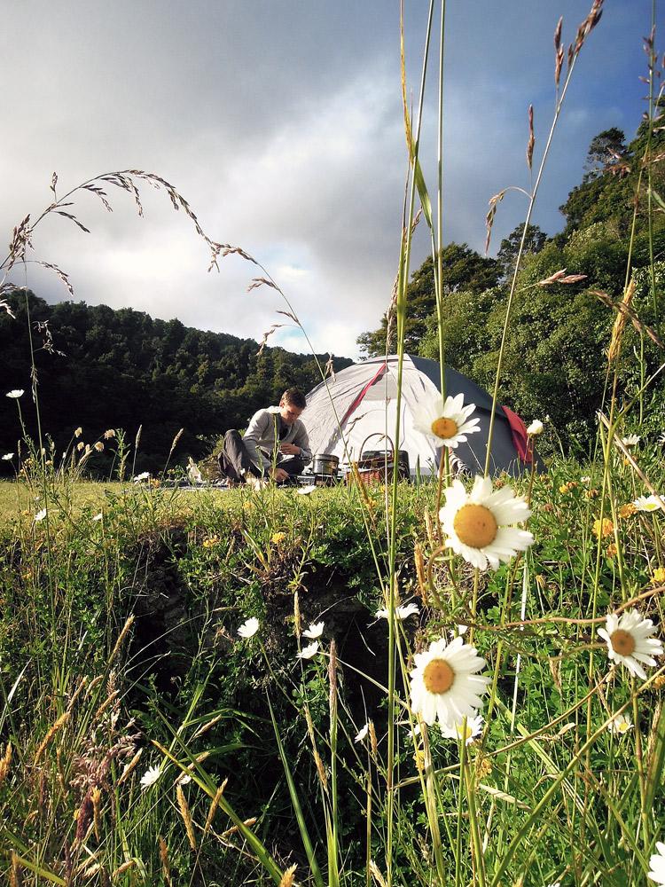 Lake-Waikaremoana-Neuseeland-camping